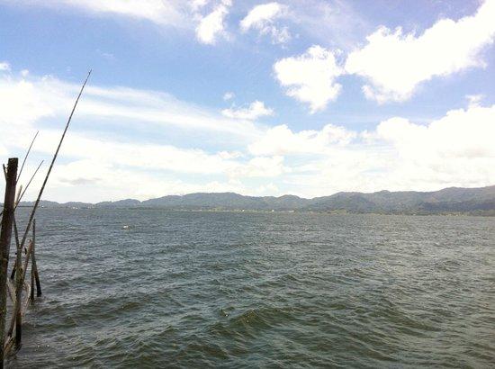 Tondano, Indonesia: 湖が奇麗に見えます