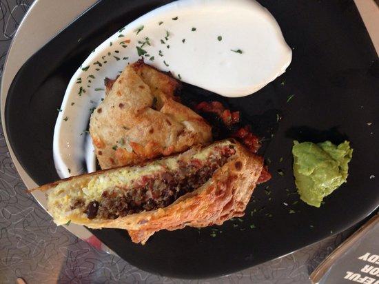 Palm Springs Rendezvous: Breakfast burrito