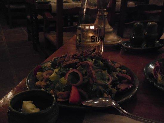 Sarnic Restaurant: Beef & Roquefort Salad