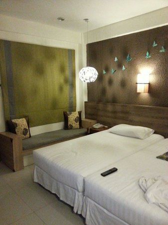 The Viridian Resort : This is our room