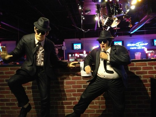 The Mojo Grill & Catering Company : The Blues Brothers at MoJo