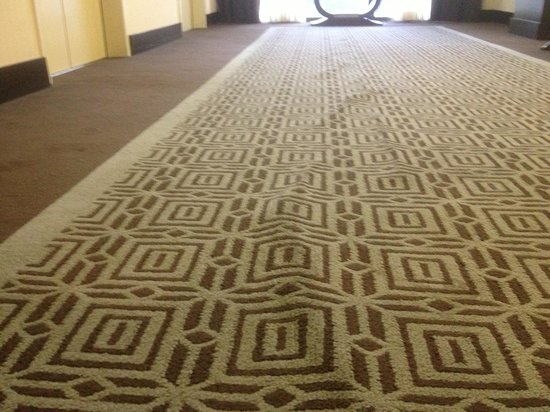 Sheraton Universal Hotel : Stretched out carpet