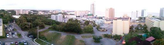 Tumon Bay Capital Hotel : View from 9th Floor Balcony, Panorama