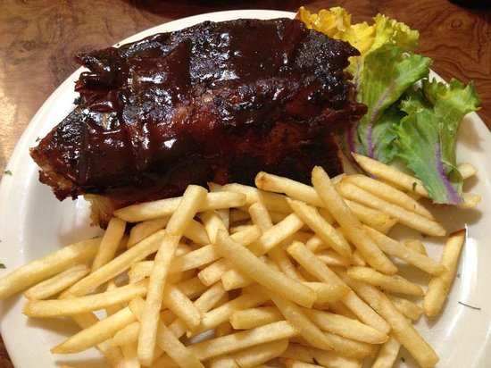Mike's Galley : 1/4 Ribs and French Fries Appetizer for $7.95