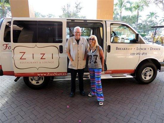 Bellasera Resort: ZIZI el restaurante y el bus