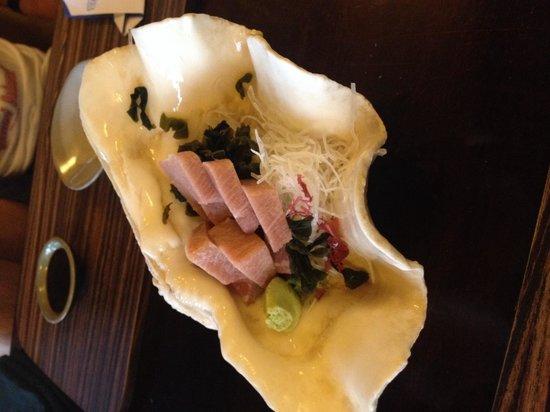 Unkaizan: Toro Sashimi that was quite average