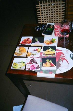 Restaurante In Situ: the dessert menu!!!!!!!!