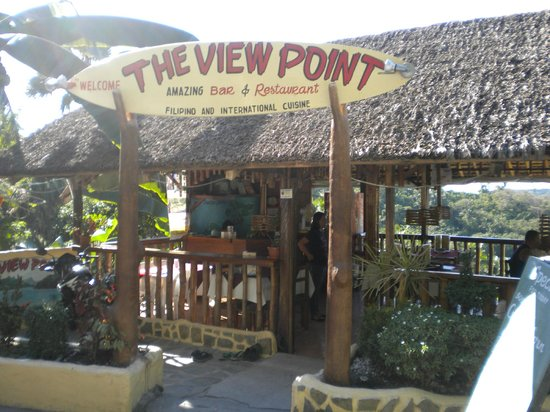 The View Point Bar and Restaurant : front of the restaurant