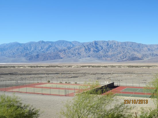 The Inn at Death Valley: View from just outside the room