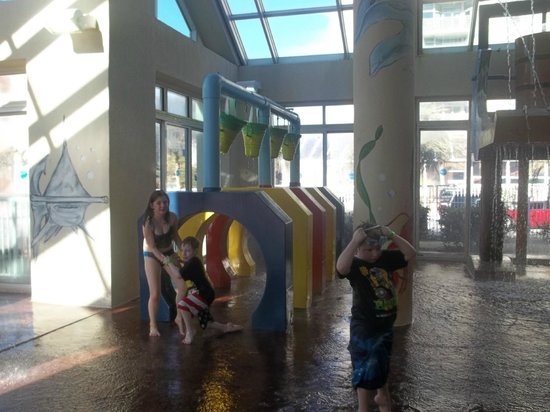 Dunes Village Resort: water park in the palms bldg