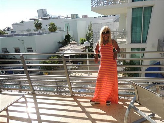 Z Ocean Hotel South Beach : Balcón de la habitación
