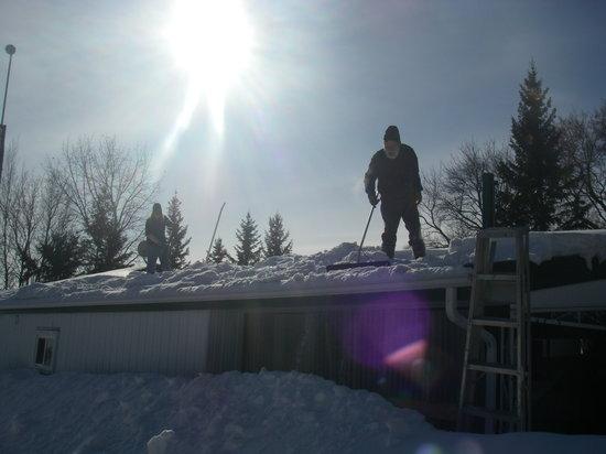 Bridgeview Bed & Breakfast : Canadian winters @ Bridgeview!