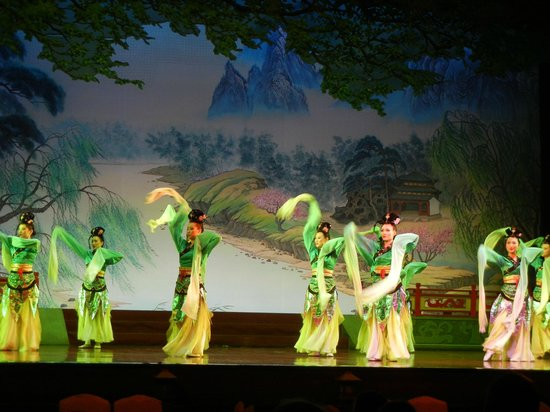 Shaanxi Grand Opera House Xi'an: Theater Show