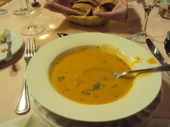 El Rey Sol Restaurant: Lobster Bisque