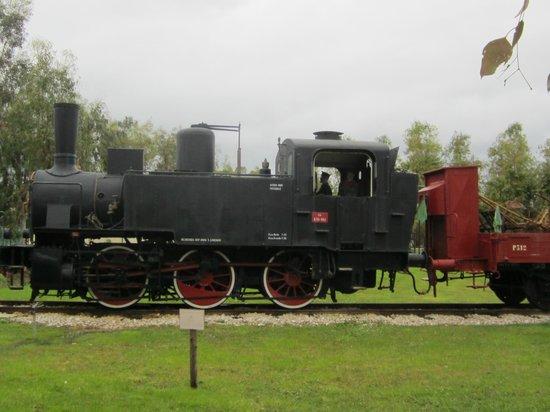 Museo Storico Piana delle Orme: locomotiva