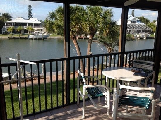Sanibel Moorings: the view from 1332