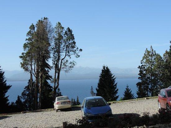 Villa Huinid Hotel Pioneros: Vista desde la entrada