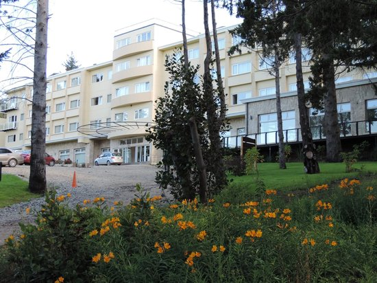 Villa Huinid Hotel Pioneros: Desde el parque