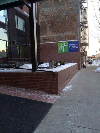 Holiday Inn Express New York - Manhattan West Side : Jour de neige