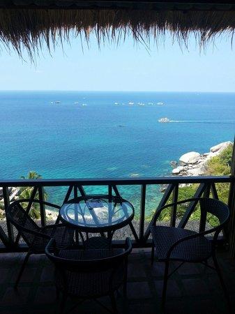 Aminjirah Resort: View from room 12