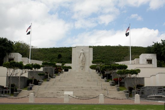 National Memorial Cemetery of the Pacific: Memorial