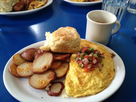 Monty's Blue Plate Diner: Blue Plate Special Omelet