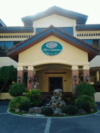 Hotel Dominique : facade of function building