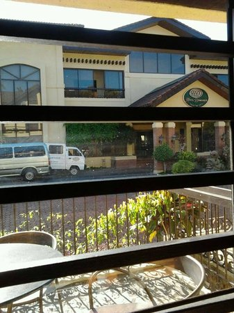 Hotel Dominique : veranda