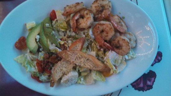 Carnation Cafe: Romaine Salad with Shrimp