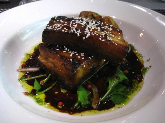 Duo Restaurant & Bar : Melt in the mouth Pork Belly
