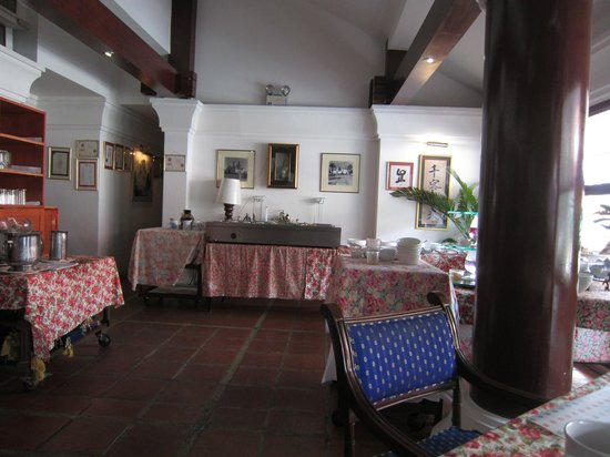Casa Pascal : レストラン内部&ブッフェ