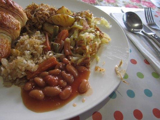 Casa Pascal : 食事内容の一部