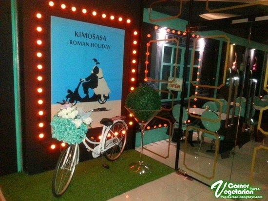 Kimosasa Cafe: 很特别、 很别具风味的素食餐厅