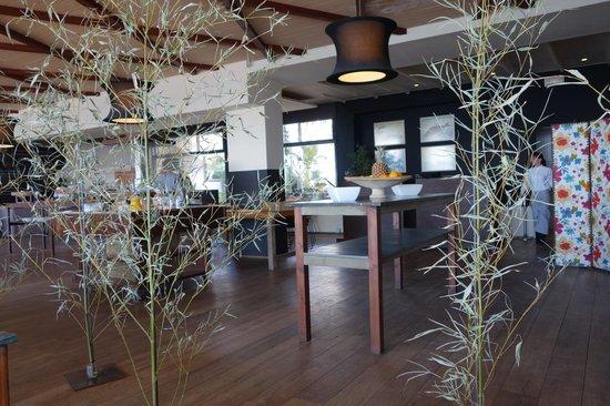 Hostal Spa Empuries: Frühstücksraum