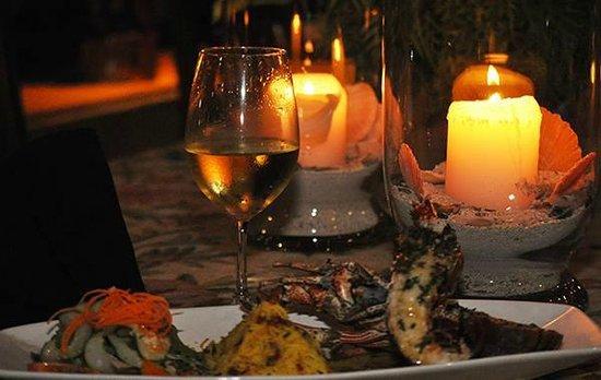 Le Vasa Resort: delicious dinner