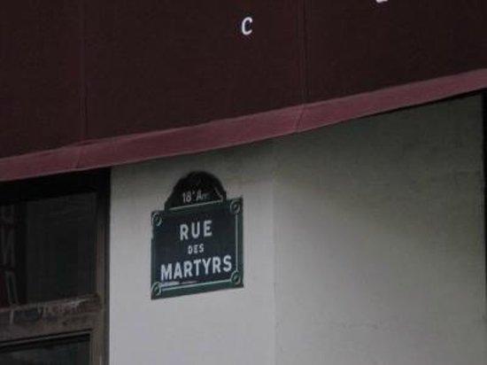 Rue des Martyrs: マルティル通り