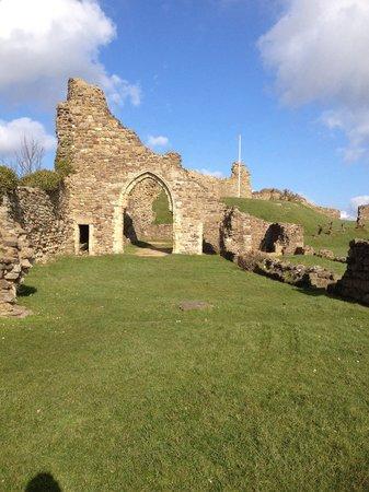 Hastings Castle: Quite attractive to walk around.