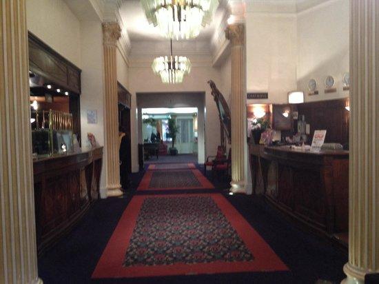 Normandy Hotel: Reception