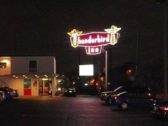 The Thunderbird Inn: The Sign
