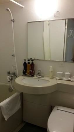 Hotel Sunroute Higashi Shinjuku: The rest room