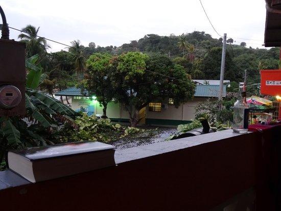 Parlatuvier Tourist Resort: Aussicht von der Honeymoonsuite