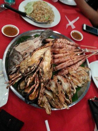 Sea Hag Restaurant: Seafood platter