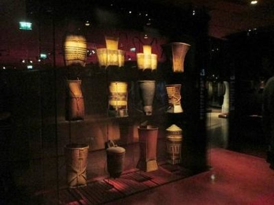Musee du quai Branly - Jacques Chirac: ベトナムの各民族を現す籠