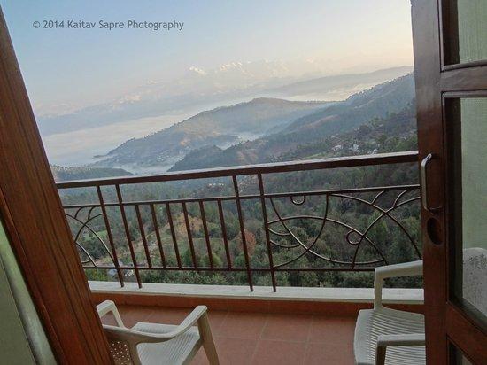 Pratiksha Himalayan Retreat : View from the Luxury room balcony_5