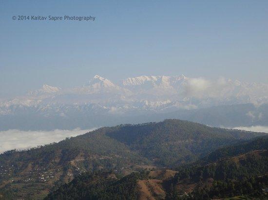 Pratiksha Himalayan Retreat : View from the Luxury room balcony_4