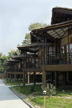Infinity Resort Kaziranga: Cottages with sit-outs