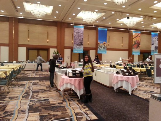 NASPA New Otani: Buffet restaurant