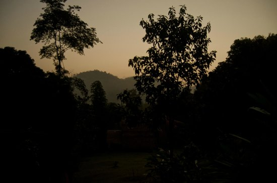Bamboo Country Lodge: view from my villa