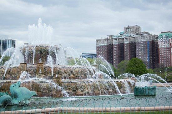 Hilton Chicago: Вид с набарежной