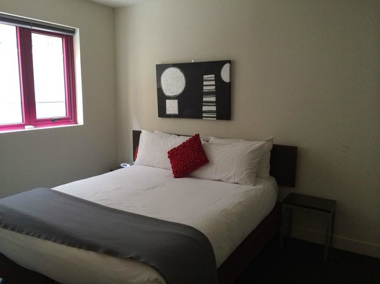 Plum Carlton Serviced Apartments Melbourne : ベッドルーム